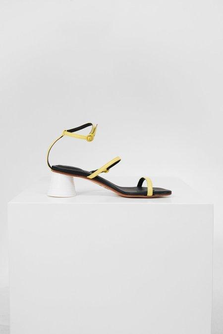 MM6 Maison Margiela Strappy Sandals - Yellow