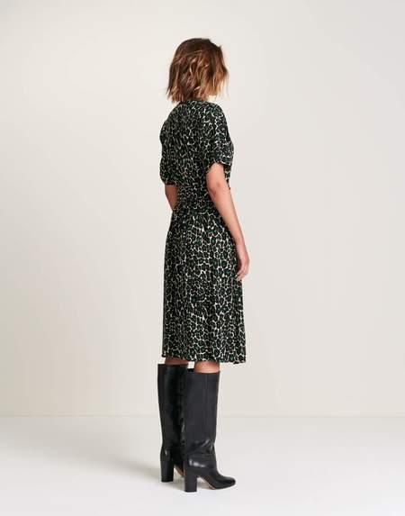 Bellerose Hoek Dress - Dark Poppy