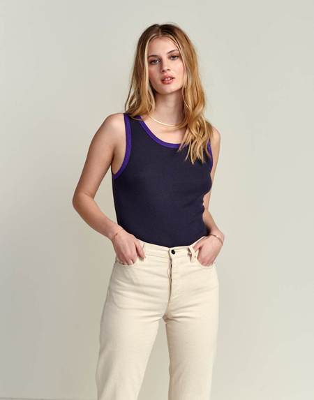 Bellerose Nima T Shirt - Blue Nights
