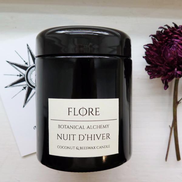 Flore Nuit D'hiver - Botanical Candle
