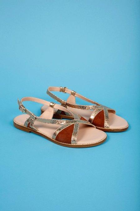 Craie Pientre Sandals - Terracotta