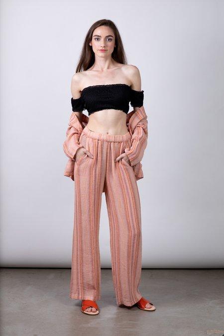 Diega Pardo Pants - Red/Yellow/Brown