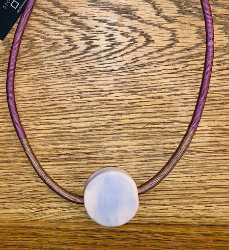 ouimillie Rapt Stonewear Circle Necklace