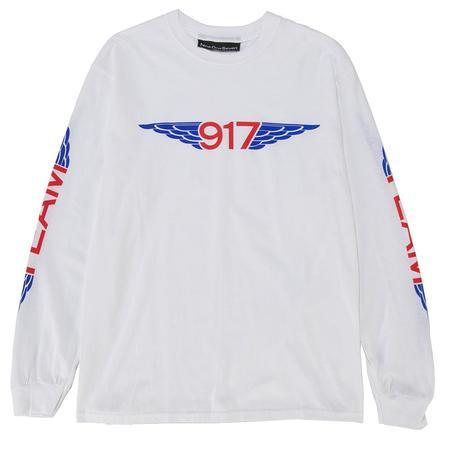Nine One Seven Team Wings Long Sleeve T shirt - White