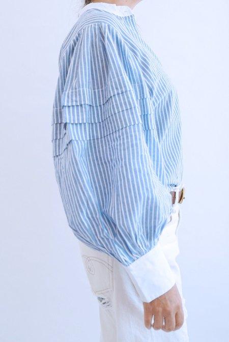 Mille Sylvie Top - Blue Stripe