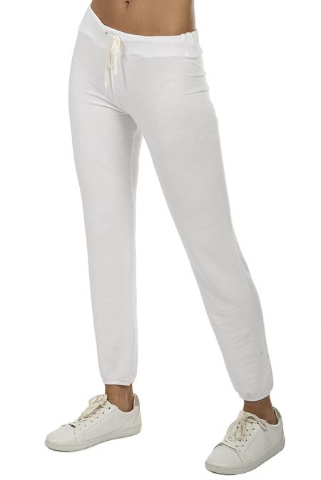 Monrow Vintage Sweatpant - White
