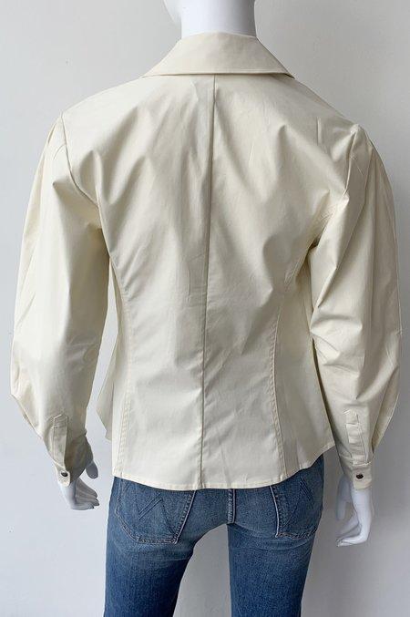 Thakoon Addition Zipper Shirt Jacket - Pale Yellow