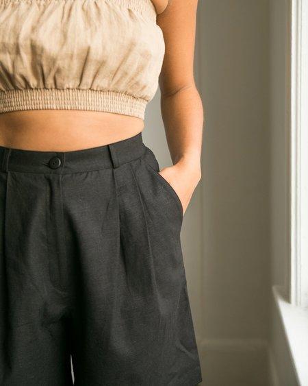 harly jae Rhodes Shorts - Black