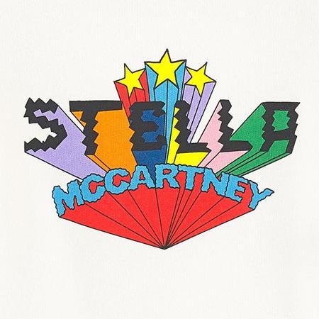 Kids Stella McCartney Child Sweatshirt With Logo Print - White