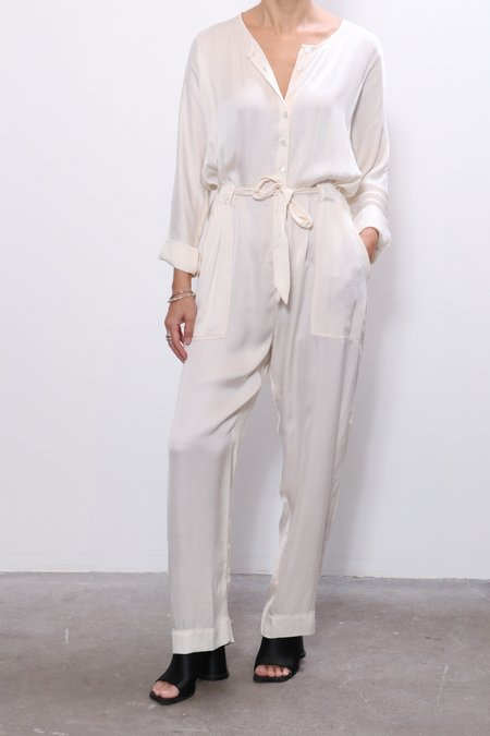 Raquel Allegra Jumpsuit - Cream