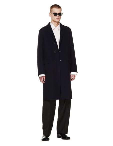 Jil Sander Cashmere Coat - Black