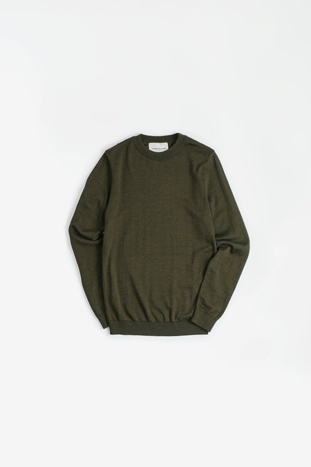 A Kind of Guise Permanents Crewneck - Olive