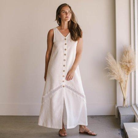 Arraei Collective Meadow Dress - White