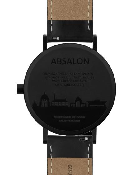 Larsen & Eriksen Reloj Absalon - Black Black