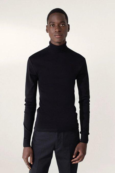 Lemaire Rib turtleneck - black