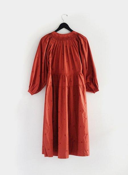 Meg Barragan Dress - Terra Cotta