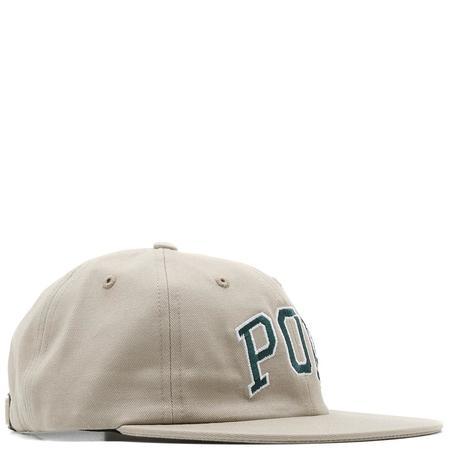 Pop Trading Company Arch 6 Panel Hat - Khaki