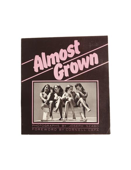 "Abe Books ""Almost Grown"" by Joseph Szabo Book"