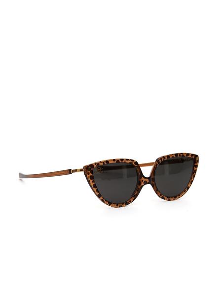 Mykita x Martine Rose Sunglasses - Topaz Leopard