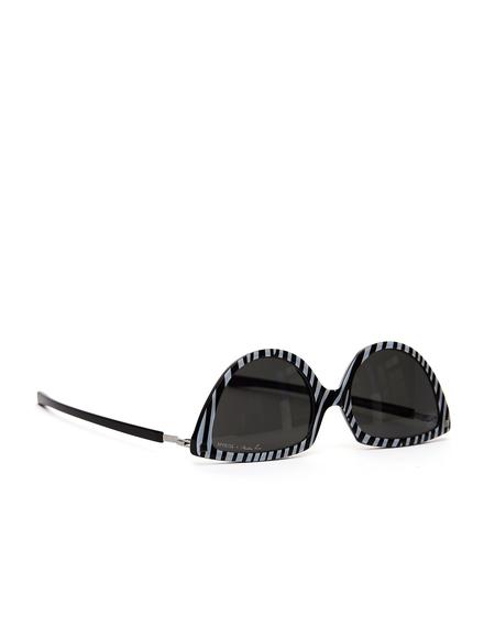 Mykita Zebra Mykita + Martine Rose «SOS» Sunglasses