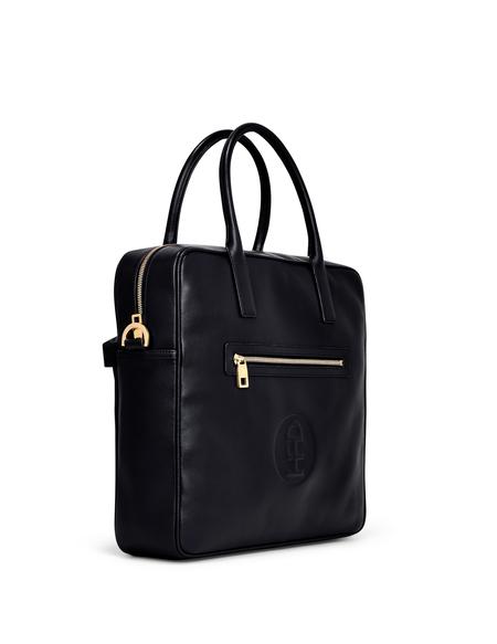 Honey Fucking Dijon Leather Vinyl Travel Bag - Black