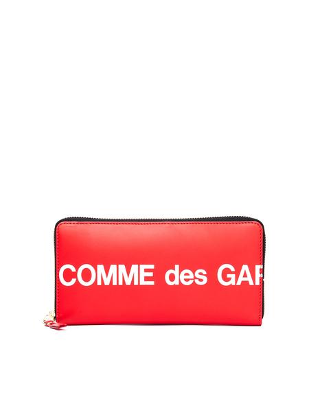 Comme des Garçons Leather Wallet - Red