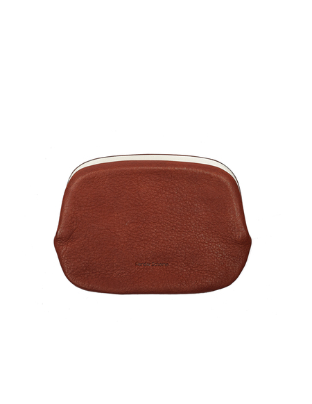 Hender Scheme Leather Snap Purse - Brown