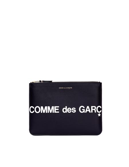 Comme des Garcons Leather Wallet - Black