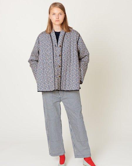 Caron Callahan Quilted Tao Jacket - Navy Floral
