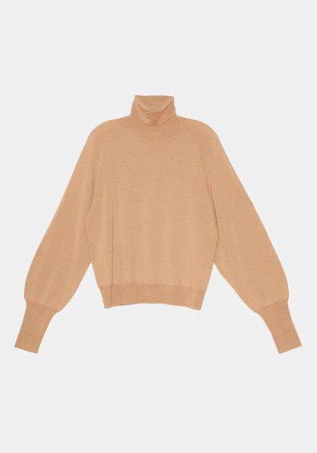 DEMYLEE Rosalee Turtleneck Sweater - Soft Fawn