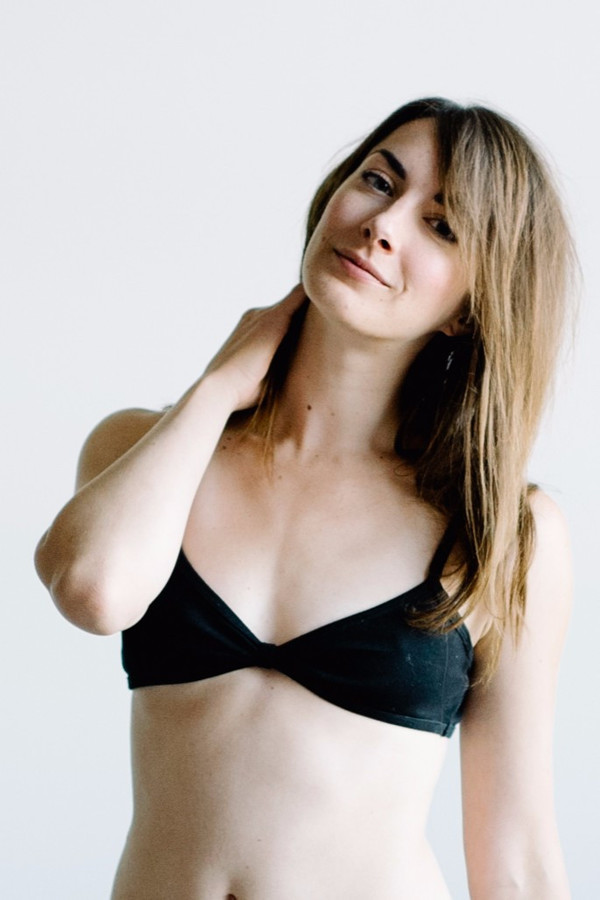 Botanica Workshop Viva Bralette - Black