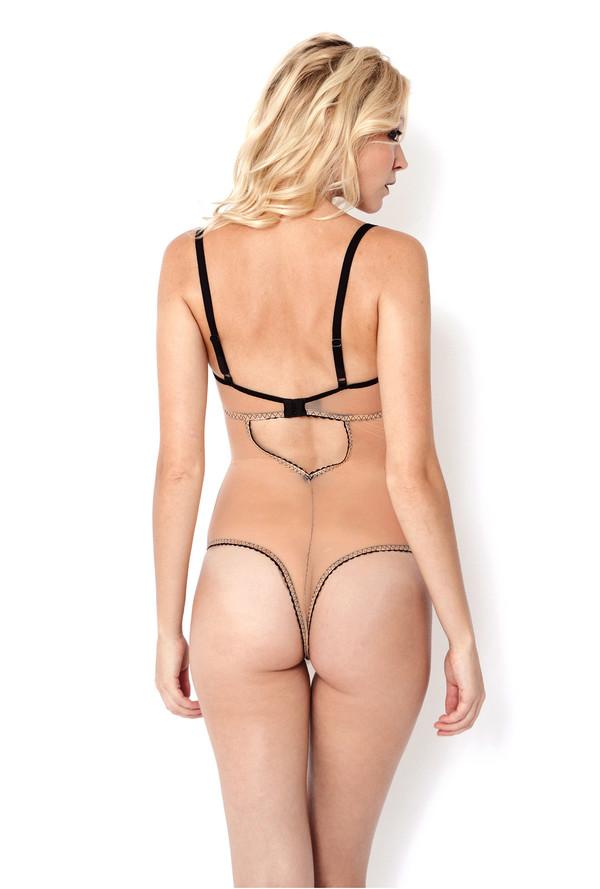 Sokoloff Bodysuit - Peach