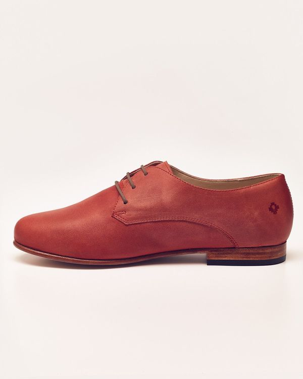 Nisolo Oliver Oxford Scarlet 5 for 5