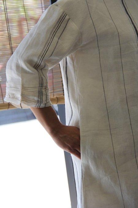 ALOJA The Summer House Mazhar Dress - White/Blue