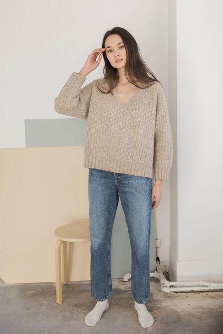 Bare Knitwear Layer V - Sand