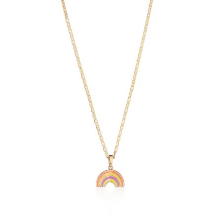 Jenny Bird Rainbow Charm Necklace