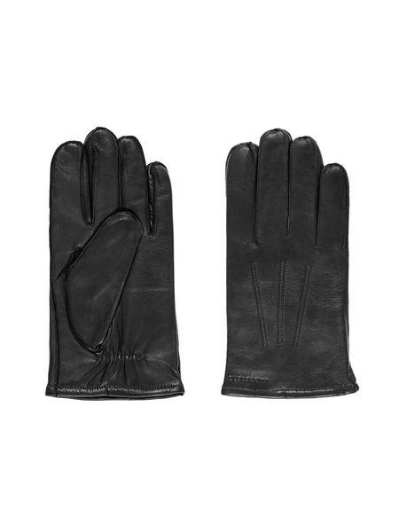 J Lindeberg Milo Leather Glove - Black
