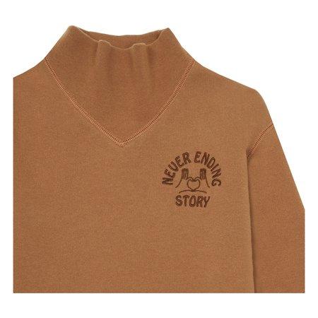 Kids Hundred Pieces Never Ending Story Dress - Rust