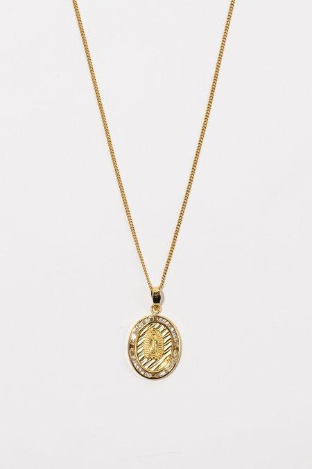 Tuza Jackpot Mary Necklace - Gold