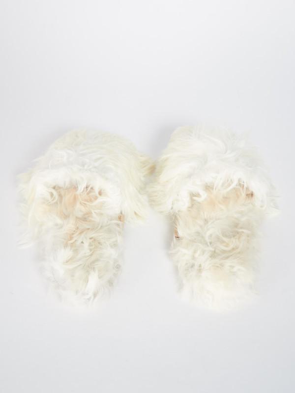 Ariana Bohling Suri Slipper White