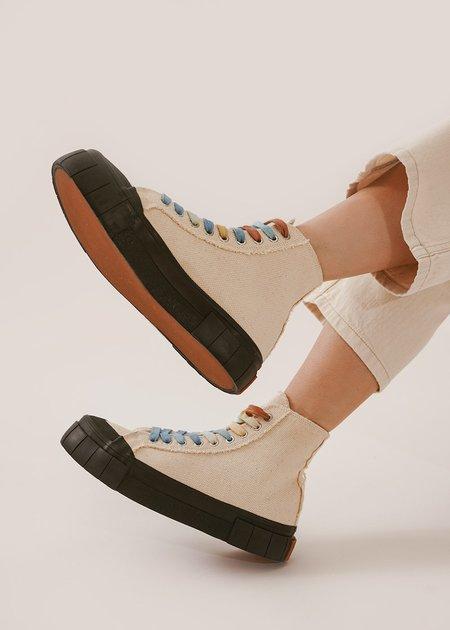 Unisex Good News Palm Core Sneakers - Oatmeal/Black
