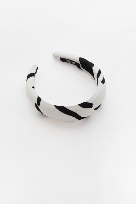 Valet Studio Annalise Headband - Black/White