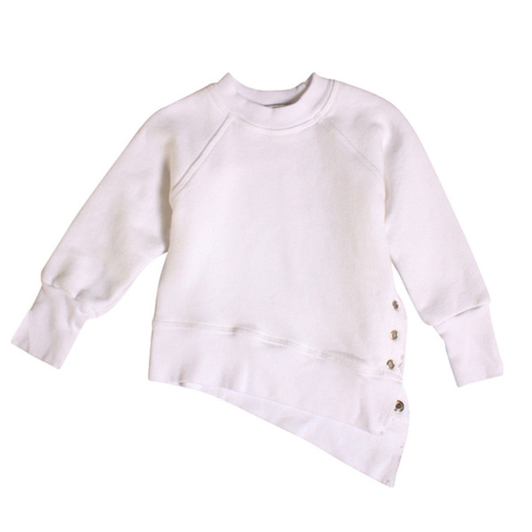 Kid's Mimobee Weekender Lace-Up Sweat - White