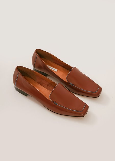 About Arianne The Garçon Shoe - Chestnut Brown