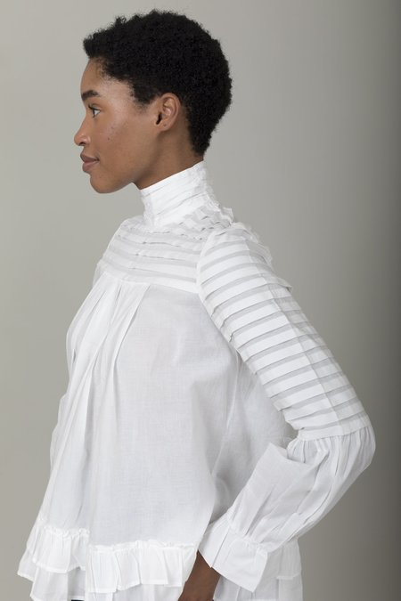 Mille Anabel Blouse - Pearl