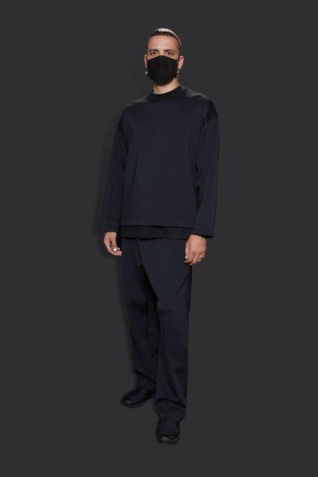 The Celect Minimum Long Sleeve Crewneck - Black