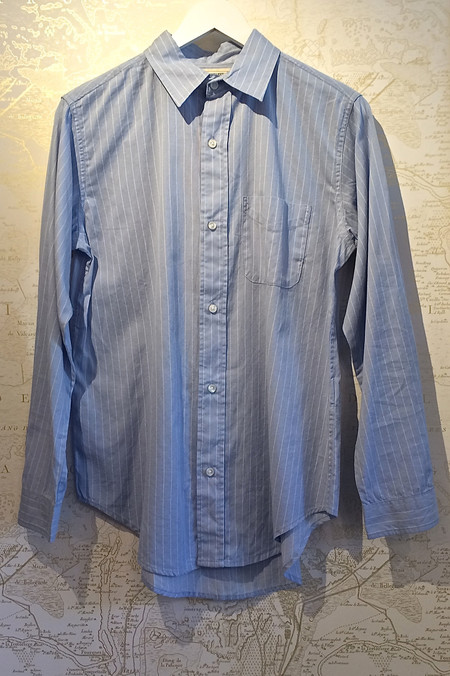 Current Elliott Pinstripe Cotton Prep School Shirt