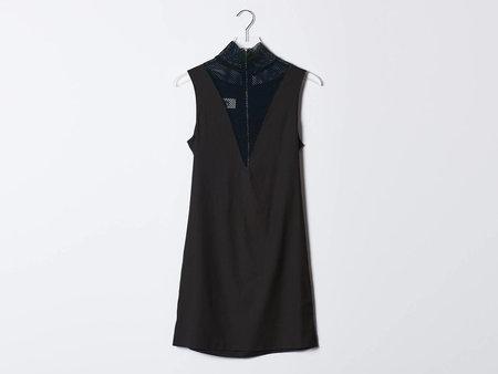 MM6 Mesh Neck Dress
