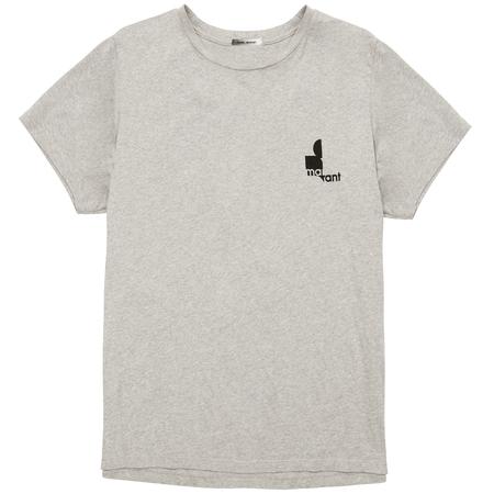Isabel Marant Zafferh Tshirt - Grey