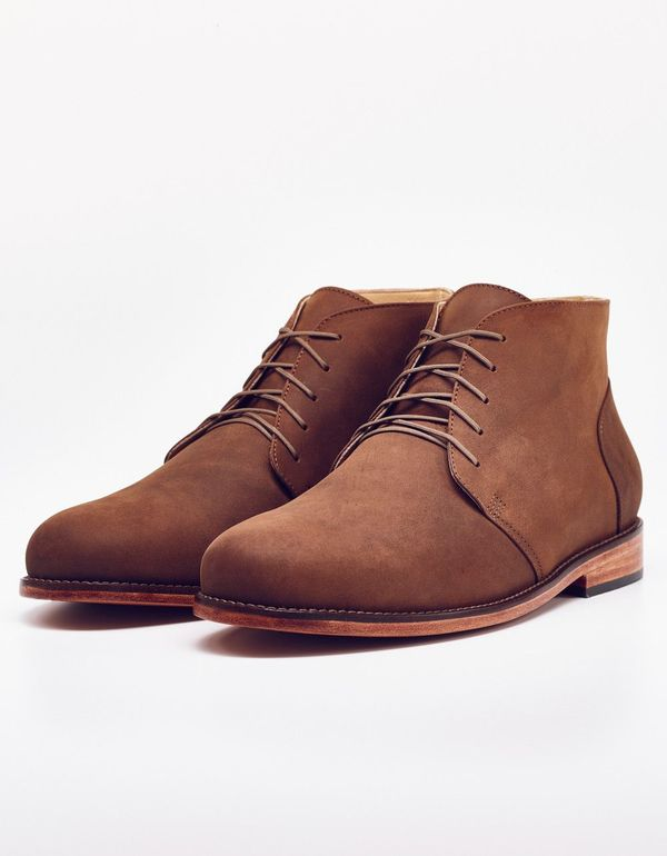 Men's Nisolo Emilio Chukka Boot Oak 5 for 5